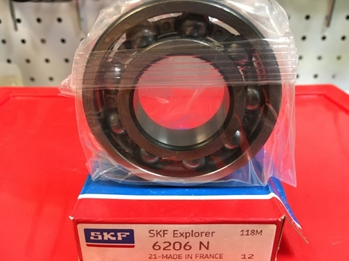Подшипник 6206 N SKF аналог 50206 размеры 30*62*16