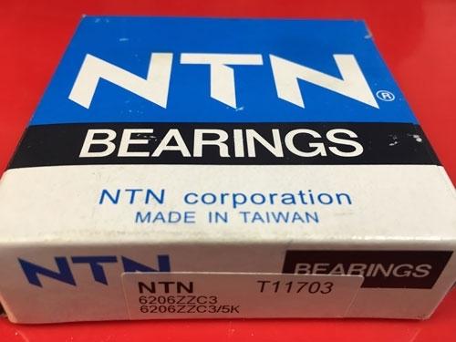 Подшипник 6206 ZZ C3 NTN аналог 80206 размеры 30x62x16