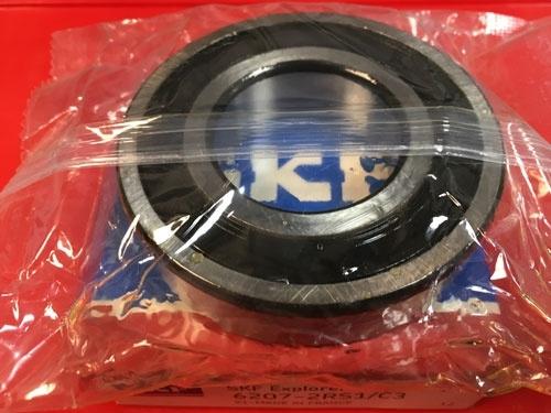 Подшипник 6207-2RS 1 C3 SKF аналог 180207 размеры 35х72х17