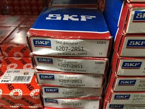 Подшипник 6207-2RS 1 SKF аналог 180207 размеры 35x72x17