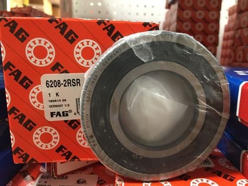Подшипник 6208-2RS R FAG аналог 180208 размеры 40x80x18