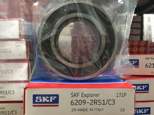 Подшипник 6209-2RS 1 С3 SKF аналог 180209 размеры 45*85*19