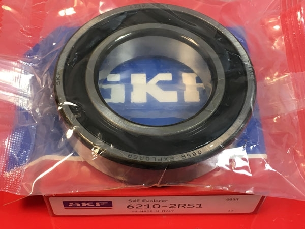 Подшипник 6210-2RS 1 SKF аналог 180210 размеры 50x90x20