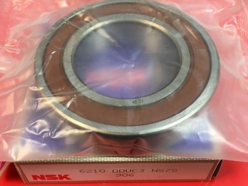 Подшипник 6210 DDU С3 NSK аналог 180210 размеры 50x90x20
