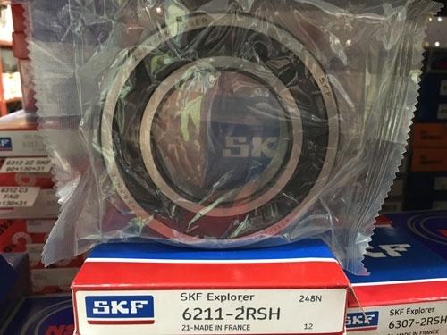 Подшипник 6211-2RS H SKF аналог 180211 размеры 55x100x21