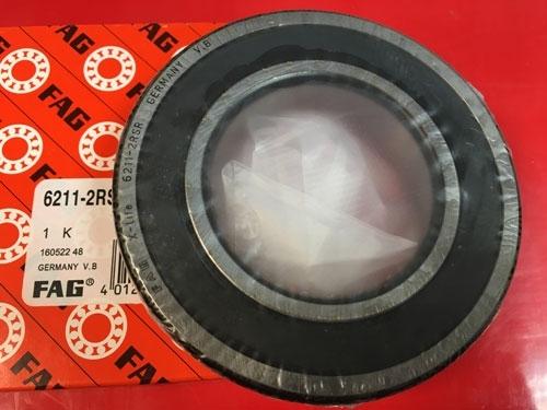 Подшипник 6211-2RS R FAG аналог 180211 размеры 55x100x21