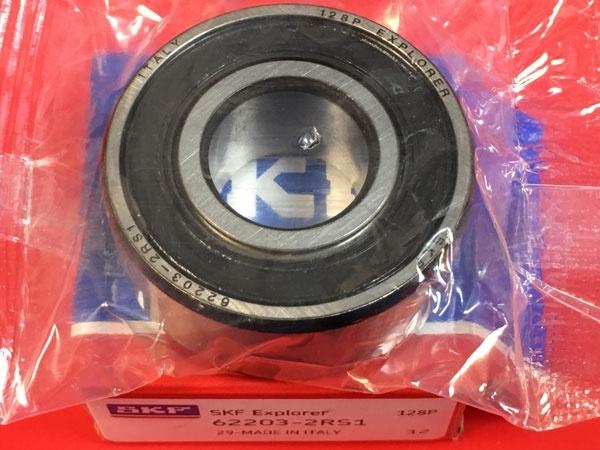 Подшипник 62203-2RS 1 SKF аналог 180503 размеры 17x40x16