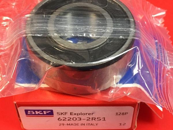 Подшипник 62203-2RS 1 SKF аналог 180503 размеры 17*40*16