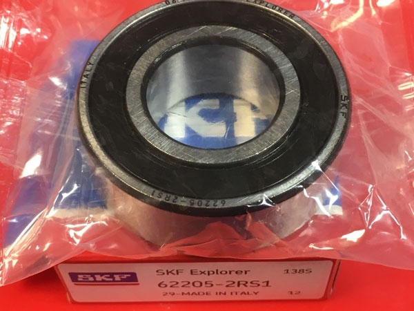 Подшипник 62205-2RS 1 SKF аналог 180505 размеры 25x52x18