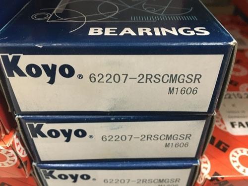 Подшипник 62207-2RS Koyo аналог 180507 размеры 35x72x23