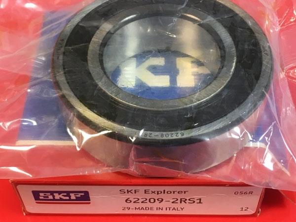 Подшипник 62209-2RS 1 SKF аналог 180509 размеры 45x85x23