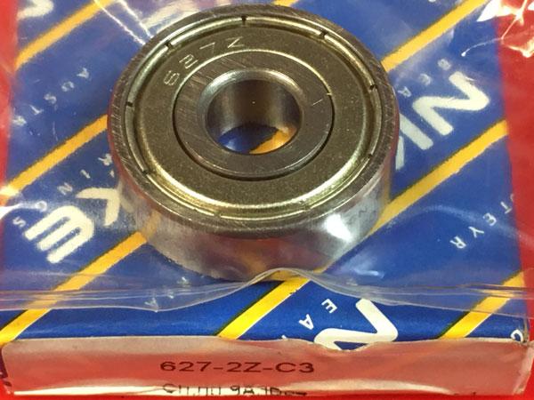 Подшипник 627-2Z C3 NKE аналог 80027 размеры 7x22x7