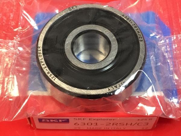 Подшипник 6301-2RS H C3 SKF аналог 180301 размеры 12x37x12