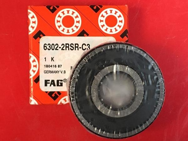 Подшипник 6302-2RS R C3 FAG аналог 180302 размеры 15x42x13