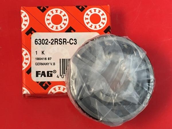 Подшипник 6302-2RS R C3 FAG аналог 180302 размеры 15*42*13