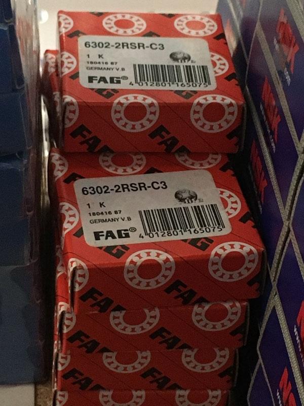 Подшипник 6302-2RS R C3 FAG аналог 180302 размеры 15х42х13