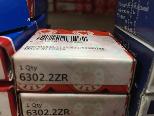Подшипник 6302-2ZR FAG аналог 80302 размеры 15*42*13