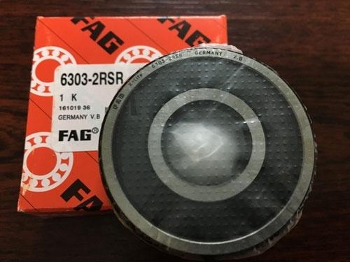 Подшипник 6303-2RS R FAG аналог 180303 размеры 17x47x14