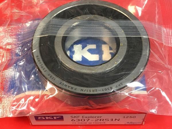 Подшипник 6307-2RS1/N SKF размеры 35x80x21