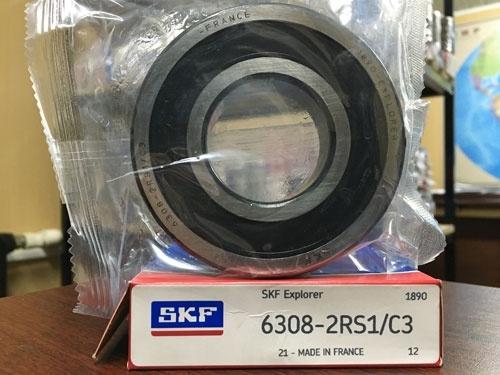 Подшипник 6308-2RS 1 C3 SKF аналог 180308 размеры 40x90x23