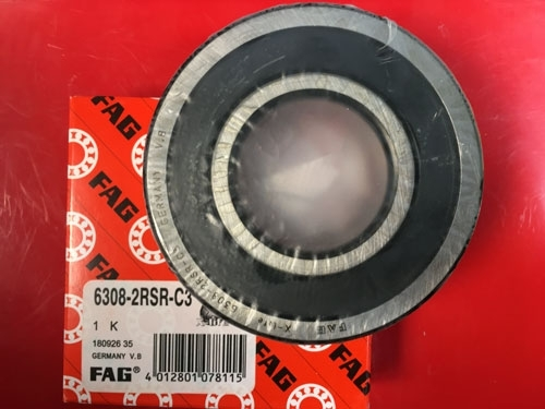 Подшипник 6308-2RS R C3 FAG аналог 180308 размеры 40x90x23