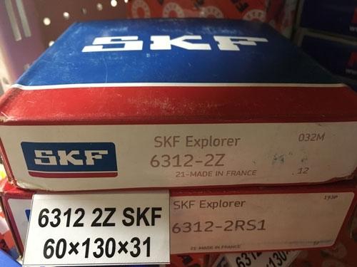 Подшипник 6312-2Z SKF аналог 80312 размеры 60x130x31