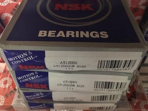Подшипник 6312 DDU NSK аналог 180312 размеры 60*130*31