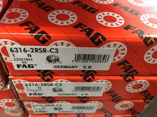 Подшипник 6316-2RS R C3 FAG аналог 180316 размеры 80*170*39 купить