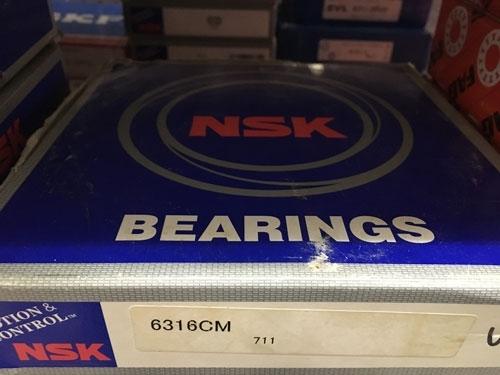 Подшипник 6316 СМ NSK аналог 316 размеры 80x170x39