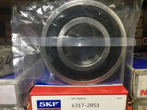Подшипник 6317-2RS 1 SKF аналог 180317 размеры 85х180х41