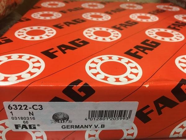 Подшипник 6322 C3 FAG аналог 322 размеры 110*240*50
