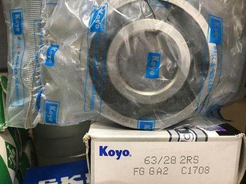 Подшипник 63/28-2RS Koyo размеры 28x68x18