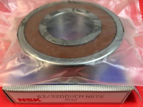 Подшипник 63/32 DDU CM NSK размеры 32x75x20