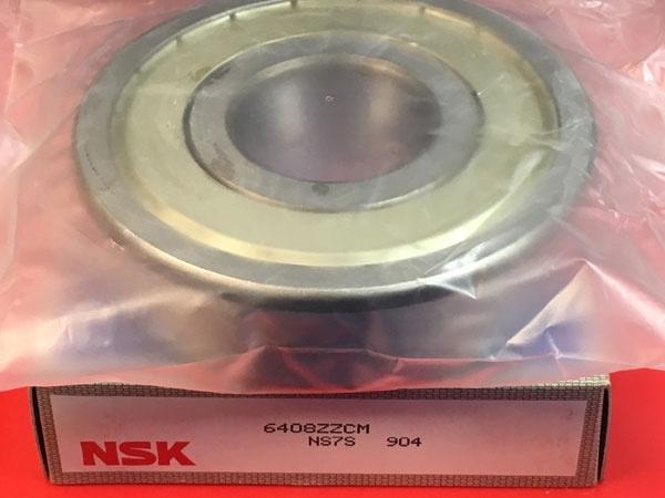 Подшипник 6408 ZZ NSK аналог 180408 размеры 40x110x27