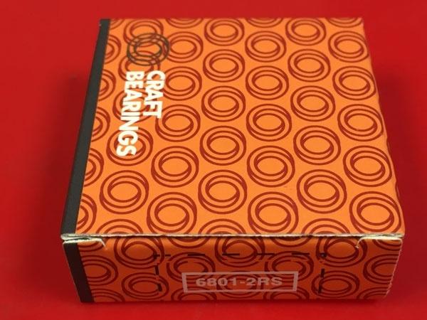 Подшипник 6801-2RS CRAFT аналоги 61801-2RS, 1180801, 1000801-2RS размеры 12*21*5
