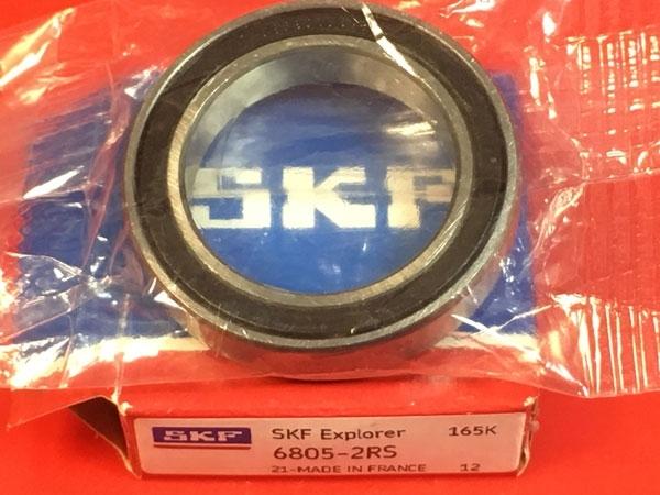 Подшипник 6805-2RS SKF аналоги 1180805, 61805-2RS, 1000805-2RS размеры 25*37*7