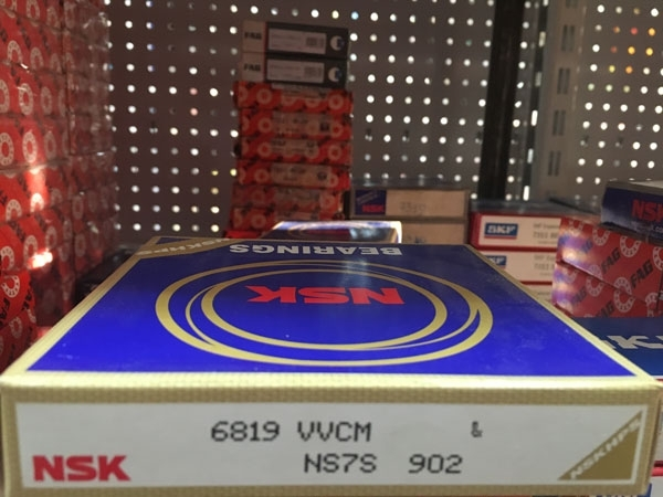 Подшипник 6819 VV CM NSK аналоги 1180819, 61819-2RS, 1000819-2RS размеры 95*120*13
