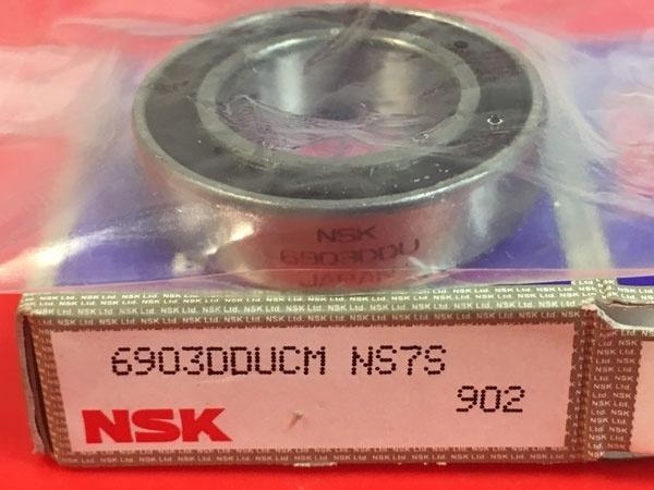 Подшипник 6903 DDU CM NSK аналог 1180903 (1000903-2RS, 61903-2RS) размеры 17x30x7