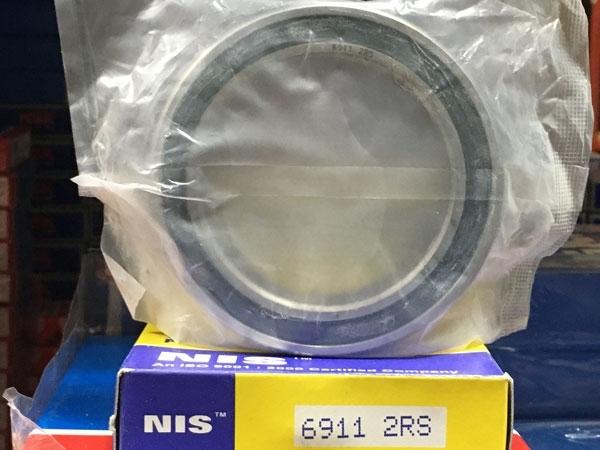 Подшипник 6911-2RS NIS аналоги 1180911, 61911-2RS, 1000911-2RS размеры 55*80*13