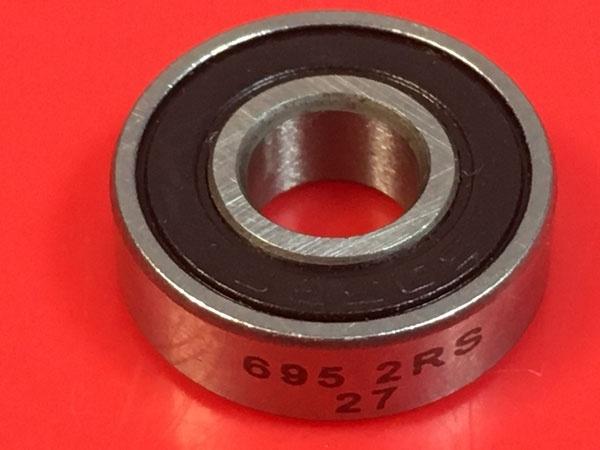 Подшипник 695-2RS аналоги 619/5-2RS (1000095-2RS) размеры 5х13х4