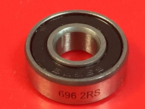 Подшипник 696-2RS аналоги 619/6-2RS (1000096-2RS) размеры 6х15х5