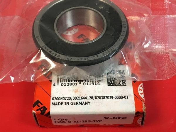 Подшипник 7205 B-XL-2RS-TVP FAG аналог 66205-2RS размеры 25x52x15