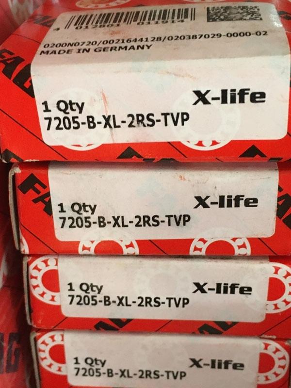 Подшипник 7205 B-XL-2RS-TVP FAG размеры 25х52х15