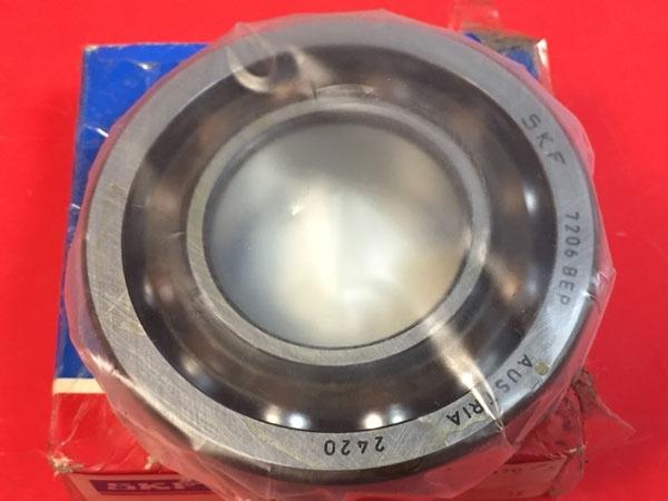 Подшипник 7206 BEР SKF аналог 66206 размеры 30x62x16