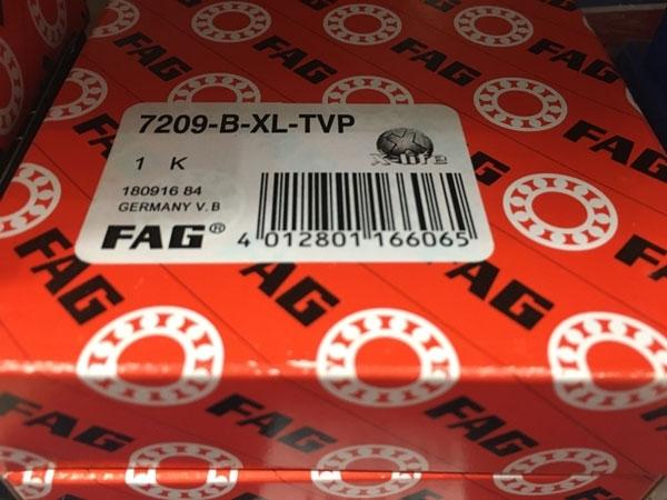 Подшипник 7209 B-XL-TVP FAG аналог 66209 размеры 45х85х19
