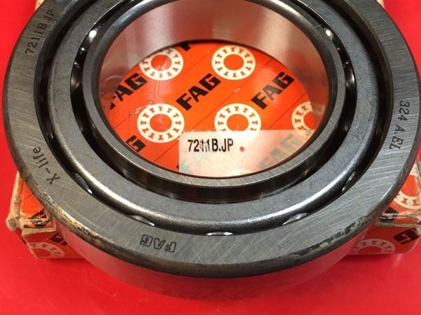 Подшипник 7211 В-JP FAG аналог 66211 размеры 55x100x21