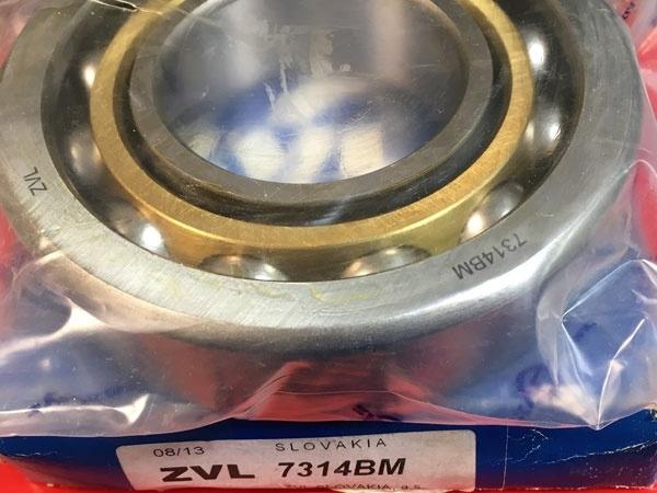 Подшипник 7314 BM ZVL аналог 66314 Л размеры 70x150x35