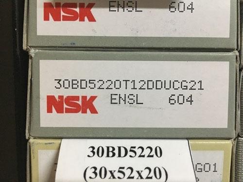 Подшипник 30BD5220 T12DDU NSK компрессора кондиционера размеры 30*52*20