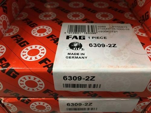 Подшипник 6309-2Z FAG аналог 80309 размеры 45*100*25