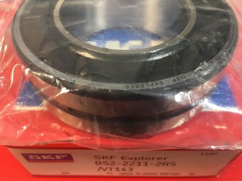 Подшипник BS2-2211-2RS/VT143 SKF размеры 55x100x31